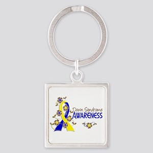 Spina Bifida Awareness6 Square Keychain
