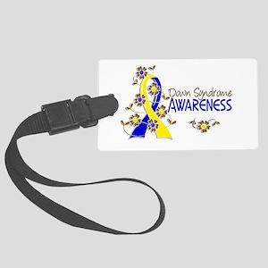 Spina Bifida Awareness6 Large Luggage Tag