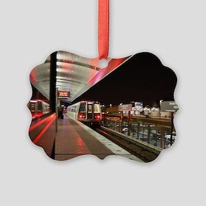 DC Metro Picture Ornament