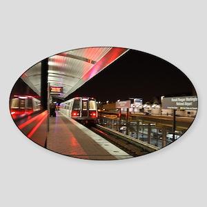 DC Metro Sticker (Oval)