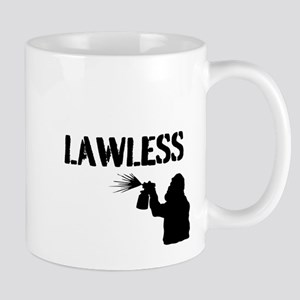 LAWLESS (BIG street graffiti artist) Mugs