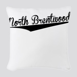 North Brentwood, Retro, Woven Throw Pillow