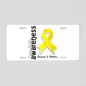Spina Bifida Awareness5 Aluminum License Plate