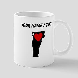 Custom Vermont Heart Mugs
