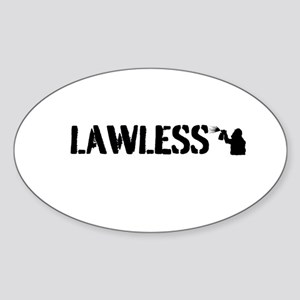 LAWLESS (small street graffiti artist) Sticker