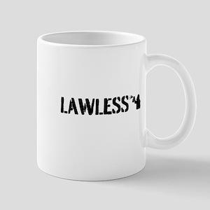 LAWLESS (small street graffiti artist) Mugs