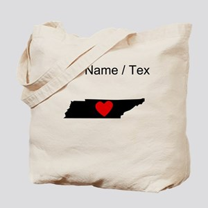 Custom Tennessee Heart Tote Bag