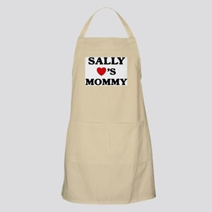 Sally loves mommy BBQ Apron