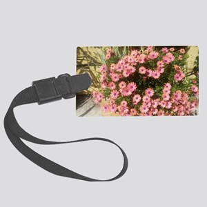 Spring Flowers Large Luggage Tag