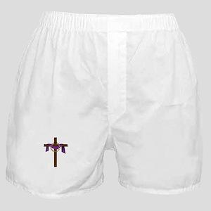 Season Of Lent Cross Boxer Shorts