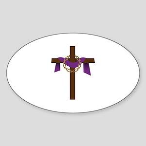 Season Of Lent Cross Sticker