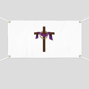 Season Of Lent Cross Banner