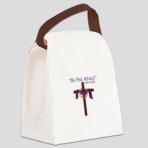 Be Not Afraid John 6:20 Canvas Lunch Bag