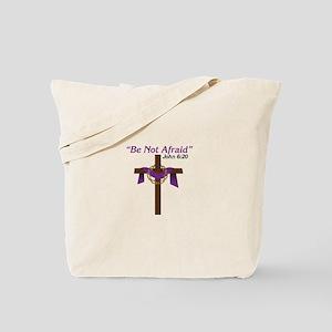 Be Not Afraid John 6:20 Tote Bag