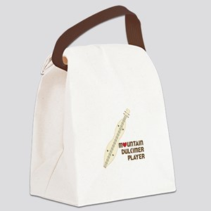 MOUNTAIN DULMICER PLAYER Canvas Lunch Bag
