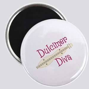 Dulcimer Diva Magnets