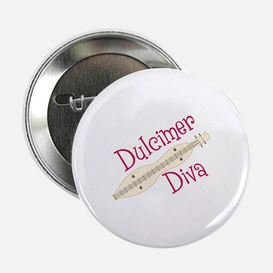 "Dulcimer Diva 2.25"" Button"