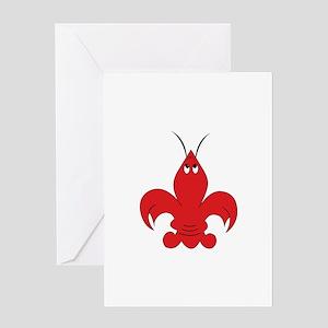 Got Crabs Cajun Greeting Cards