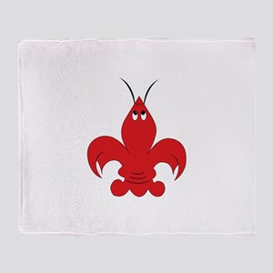 Got Crabs Cajun Throw Blanket