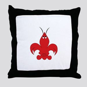 Got Crabs Cajun Throw Pillow