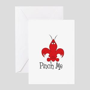 Pinch Me Greeting Cards