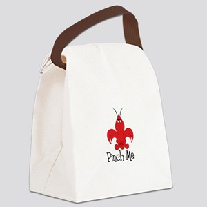 Pinch Me Canvas Lunch Bag