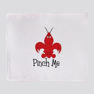 Pinch Me Throw Blanket