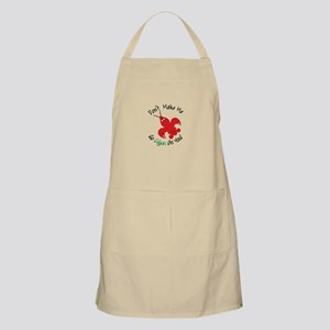 Dont Make Me Go Cajun On You! Apron