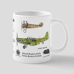 Sopwith Camel P-51 Mustang Mug Mugs