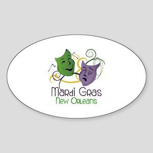 Mardi Gras New Orleans Sticker