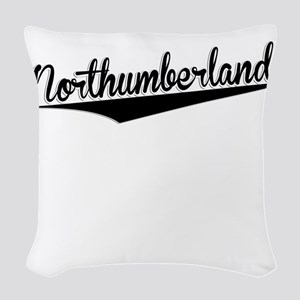Northumberland, Retro, Woven Throw Pillow