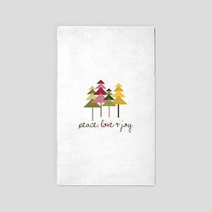 place, love Joy 3'x5' Area Rug