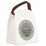 Defund Obamacare Canvas Lunch Bag