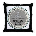 Defund Obamacare Throw Pillow
