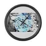Freezing Large Wall Clock
