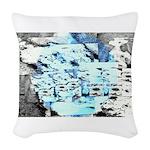 Freezing Woven Throw Pillow