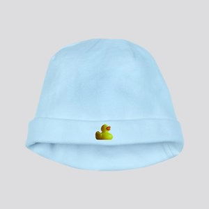 Classic Rubber Duckie baby hat