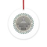 Defund Obamacare Ornament (Round)