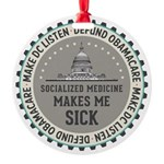 Defund Obamacare Ornament