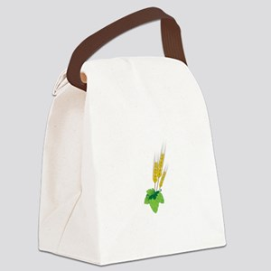 Barely Beer Brewer Canvas Lunch Bag