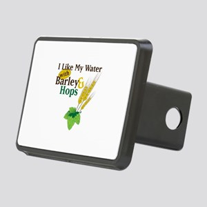 I Like My Water with Barley Hops Hitch Cover