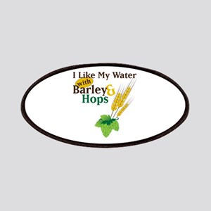 I Like My Water with Barley Hops Patches