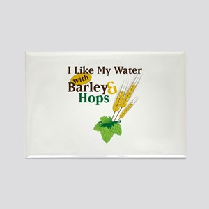 I Like My Water with Barley Hops Magnets