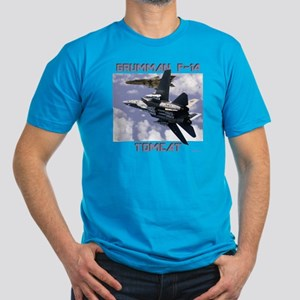 F-14 Tomcat v MiG21 Men's Fitted T-Shirt (dark)