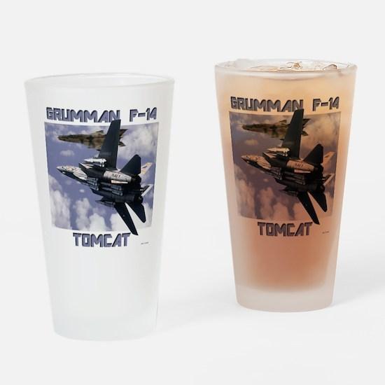 F-14 Tomcat v MiG21 Drinking Glass