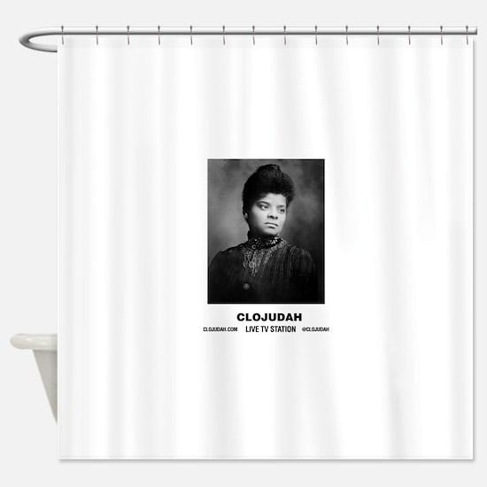 CLOJudah Ida B. Wells Shower Curtain