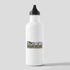 0793 - Airplane comparison Water Bottle