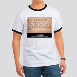 CLOJudah Ida B. Wells - Injustice T-Shirt