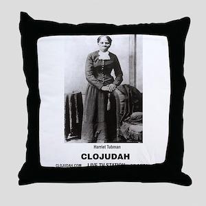 CLOJudah Harriet Tubman Throw Pillow