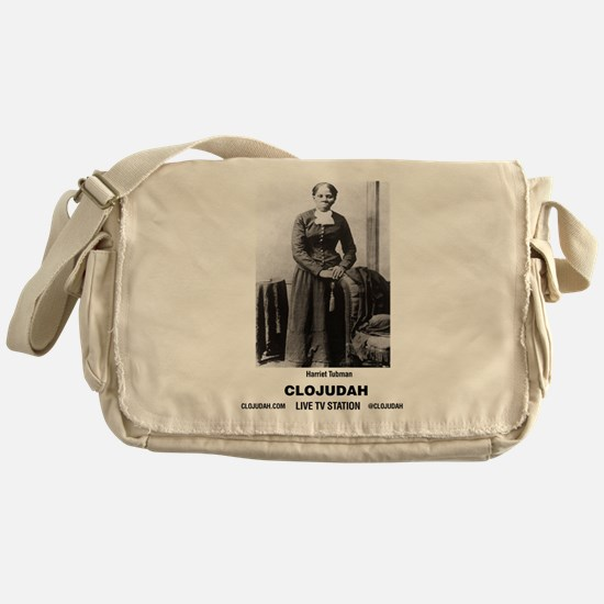 CLOJudah Harriet Tubman Messenger Bag